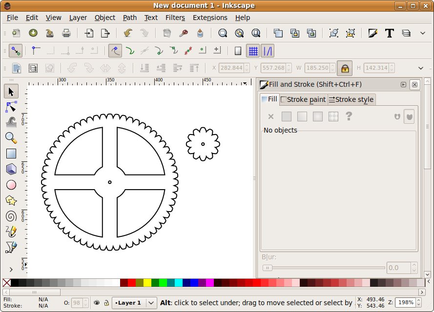 Inkscape Gcodetools plug-in English support forum • Станки с